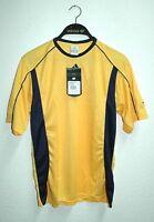 ADIDAS Herren Fußball Trikot T-shirt Climalite gelb Gr: S 46 NEU