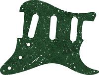 Pickguard Pick Guard Scratchplate Fender Strat Stratocaster Green Sparkle NEW