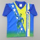 Tee shirt maillot entrainement foot garçon 8 ans Bosnie - vêtement habit