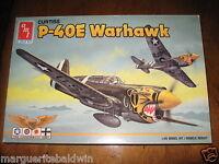 AMT ERTL #8879 CURTISS P-40E Warhawk  WWII 1:48 Model Kit