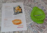 Tupperware Teigfalle - grün + Anleitung und Rezept - NEU