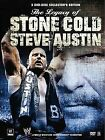 WWE: THE LEGACY OF STONE COLD STEVE AUSTIN 3-DISC SET DVD COMPLETE IN BOX MOVIE