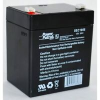 SEC1055 Zeus PC5-12XBEBALT11-Replacement Battery for Liftmaster 3850 and 3850P