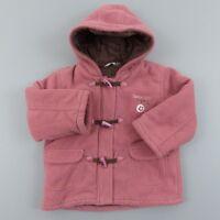 Manteau chaud polaire fille 2 ans Kidkanai - vêtement bébé