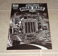 Stephen King Joe Hill Road Rage #3 1:10 RI Sketch Variant Edition 1st Print