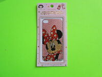Minnie Mouse Jewelry Rhinestone Sticker for iPhone 4 4S or Case cover JS02