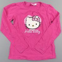 Haut tee shirt manches longues fille 9-10 ans Hello kitty - vêtement habit