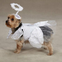 Halloween Dog Costume - Casual Canine ANGEL PAWS Costume - XS, S, M, L, XL