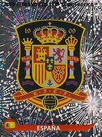 Panini Sammelbilder Fußball WM 2010 Nr. 563 Espana Wappen Logo Glitzersticker