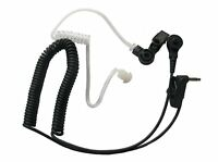 Listen Only FBI Earpiece Earphone for MOTOROLA HT1250 HT1550 Speaker MIC Radio