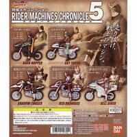 Bandai Kamen Masked Rider Machine Chronicles Gashapon Figure Part 5 Full 6 Pcs