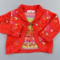 Pull gilet doux fille 3 ans Clayeux 15% laine - vêtement habit