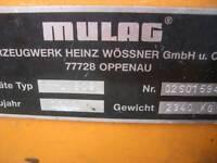 Mulag MHU 800  Böschungsmäher Unimog LKW