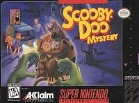 Scooby-Doo Mystery  (Super Nintendo Entertainment System, 1995)  FULLY COMPLETE