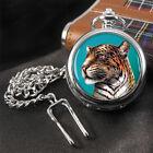 Leopard Pocket Watch