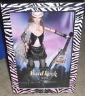 Hard Rock Cafe Barbie Doll Rockstar Guitar Tattoo HRC Pin NRFB Pink Black 2004