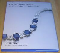 Sotheby's EXTRAORDINARY JEWELS FROM PRIVATE COLLECTION 1997