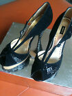 MIMCO SHOES GATSBY STYLE INFINITY PLATFORMS LEATHER HEELS SIZE 40 RRP:349 **