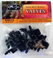 (8x) CPR Micro Ball Valve Air Line Drip Doser Control