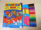 niños infantil Libro Para Colorear Pad + 30 Rotuladores