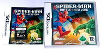 Spiel: SPIDERMAN BATTLE NEW YORK für Nintendo DS + Lite + Dsi + XL + 3DS 2DS
