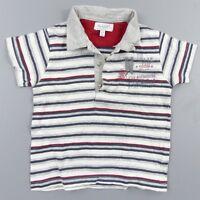 Polo été garçon 12 mois Alphabet - vêtement habit bébé