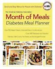 The American Diabetes Association Month of Meals Diabetes Meal Planner: By Am...
