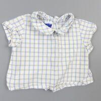 Chemise boutons dos garçon 0-1 mois - vêtement habit bébé