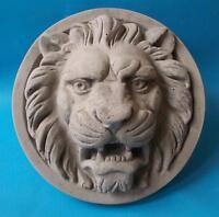 Zement/Beton Stuck Relief = römischer Löwe =  Wandrelief  RF33
