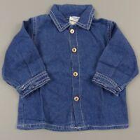 Chemise manches longues garçon 6 mois Camaieu - vêtement habit bébé