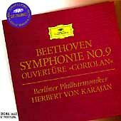 BEETHOVEN: SYMPHONY NO. 9 / CORIOLAN OVERTURE CD  BRAND NEW SEALED