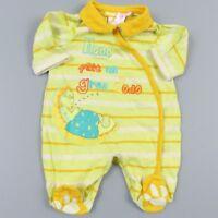Pyjama léger garçon 0 mois Orchestra - vêtement bébé taille naissance