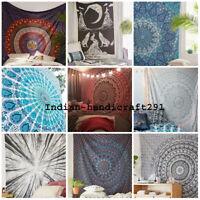 Twin Indian Mandala Tapestry Hippie Queen Wall Hanging Bedspread Blanket Throw