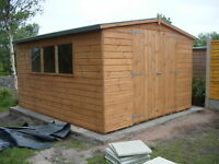 10 x 12 Apex Shed             Fully T & G Claddings