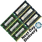 Memory RAM 4 Laptop Notebook PC3 8500 DDR3 1066 MHz 204 PIN CL7 SoDIMM 2x LOT GB