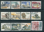 PORTUGAL - LOT de timbres types VUES et MONUMENTS, oblitérés