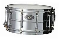 sta1465s 14 x 6.5 inches sensitone snare drum - beaded steel