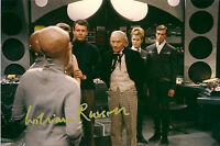 WILLIAM RUSSELL DOCTOR WHO SENSORITES IAN SIGNED AUTOGRAPH 6 x 4 PRE PRINT PHOTO