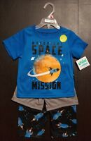 Child of Mine Carter's 3pc Toddler Boys Pajamas Set 2T 3T OR 4T SPACE MISSION