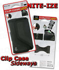 Nite Ize LARGE Clip Case Sideways Black CCSL-03-01 NEW