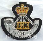 Durham Light Infantry FILO ricamato LINGOTTO GIACCA DISTINTIVO -