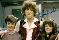 SARAH SUTTON DR WHO NYSSA SIGNED AUTOGRAPH PRE PRINTED PHOTO 6 x 4 LOG TOM BAKER