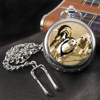 Greyhound Racing Pocket Watch