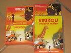 lot 2 DVD KIRIKOU : et la sorcière / et les bêtes sauvages - sans le coffret