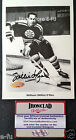 #2 WILLIE O'REE Signed 5x7 Boston Bruins Autograph b/w Photo Ironclad COA Auto