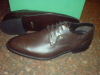 Clarks MENS,FORMAL**GORETEX,GTX, ACTIVE AIR** BROWN  LEA  UK 7 / true 7.5