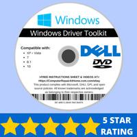 Dell Windows Drivers Software Repair Restore Recover Win 10 8.1 8 7 Vista XP