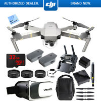 DJI Mavic Pro Platinum Quadcopter Drone w/ 4K Camera +Virtual Reality Experience