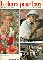 Lectures pour tous je sais tout numero  138 / juin 1965