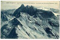 CPA 38 Isère Massif de Belledonne Les Trois Pics de Belledonne